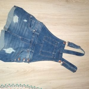 Denim Short Overalls.New w/out tag